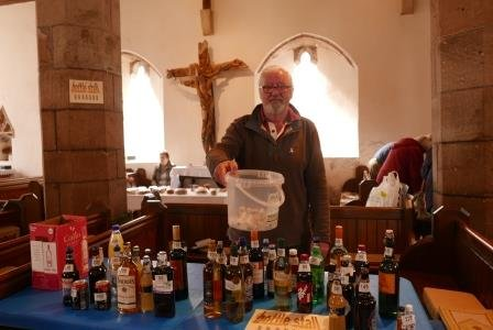 Bottle tombola for Church funds